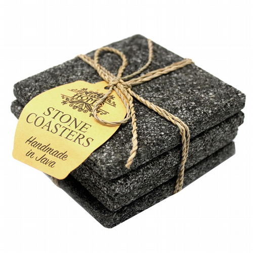 Coasters - Set of 4 - Lava Stone